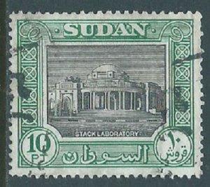 Sudan, Sc #112, 10pi Used