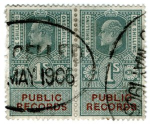 (I.B) Edward VII Revenue : Public Records 1/-