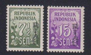Indonesia-Riau - 1954 - SC 2,4 - MH