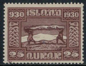 Iceland #158*  CV $9.25
