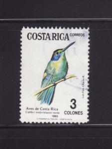 Costa Rica 291 U Birds (A)