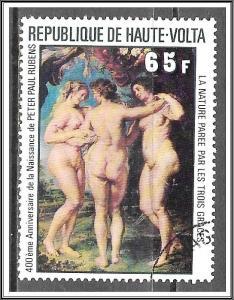 Upper Volta #447 Rubens Paintings CTO