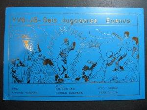 10260 Amateur Radio QSL Card CIUDAD GUAYANA VENEZUELA
