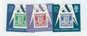 Guernsey   mnh sc 446-448