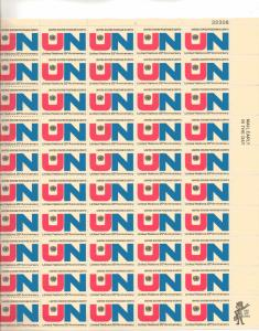 US 1419 - 6¢ UN and Emblem Unused