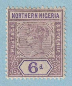NORTH NIGERIA 6  MINT HINGED OG * NO FAULTS VERY FINE!