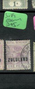 ZULULAND  (PP2305B)  QV  1 D  SG F1   ESHOWE  CDS    VFU