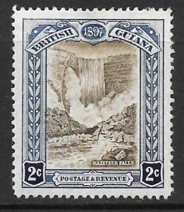 British Guiana Scott #153 Mint 2c Kaieteur Falls 2015 CV $35.00