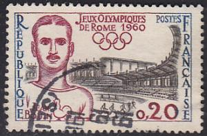 France 969  XVII Summer Olympic Games, Rome 1960