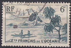 French Polynesia 174 used (1948)