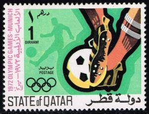 Qatar #303 Soccer; Unused (0.80)