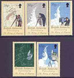 British Antarctic Territory 1998 History of Mapping in An...