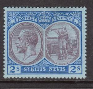 St Kitts & Nevis #32 Mint Fine - Very Fine Original Gum Hinged