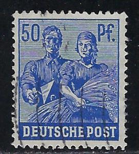 Germany AM Post Scott # 569, used
