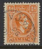 Jamaica  SG 121b  - Used -  see scan and details