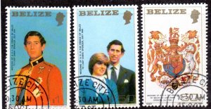 BELIZE 548 USED CTO SCV $3.85 BIN $1.30 ROYALTY