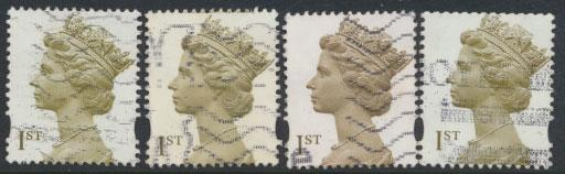 Machin 1st Millennium  SG 2124 / d  SC# MH335 -MH336  Used copies - see details