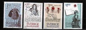 J23095 JLstamps 1984 sweden set mnh #1502-5 designs