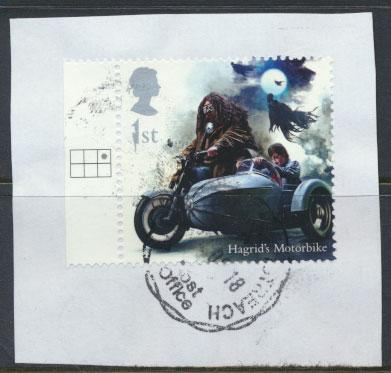 Great Britain Harry Potter 2018 1st Class Hagrid's Motorbike  see scan
