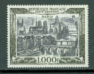 FRANCE PARIS #C27...MINT LIGHT H...$90.00