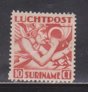SURINAM Scott # C1 MH - Airmail