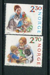 Norway #920-1 MNH