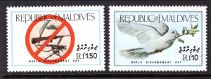 Maldive Islands 1149-1150 MNH VF
