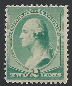 Scott 213, Never Hinged, Original Gum, 1881-8 Re-Engraved...