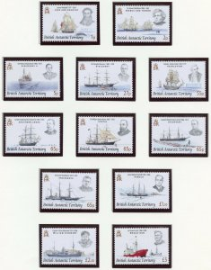 BRITISH  ANTARCTIC TERRITORY SELECTION 2009 ISSUES ON  PAGES STAMPS MINT NH