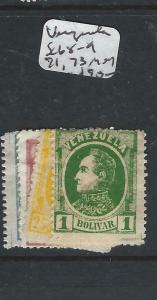 VENEZUELA  (P0706B)   SC 68-9, 71, 73   MOG