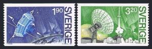Sweden 1514-1515,MNH.Michel 1305-1306. Viking Satellite,1985.