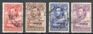 Bechuanaland Protectorate Sc# 125-130 (Assorted) Used 1938 KGVI