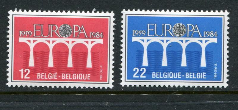 Belgium #1169-70 MNH 1984 Europa