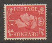 GB George VI  SG 486a mounted mint wmk sideways