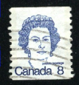 Can #604   -3   u   VF 1974 PD