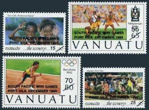 Vanuatu 619-622,MNH. South Pacific Mini Games 1993.