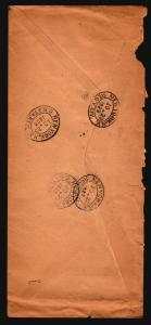 Chile 1923 Large Registered Cover to USA (See Image For Condition) (I) - Z15996