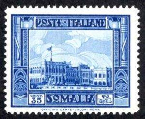 Somalia Sc# 145a MNH (perf 14) 1934-1937 35c dark blue Definitives