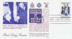 1756 15c GEORGE M. COHAN - Edsel Masonic