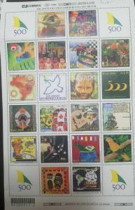 O) 2000 BRAZIL, DISCOVERY OF BRAZIL, ALBERTO SANTOS DUMONT- PINEAPPL-TELEPHONE-R