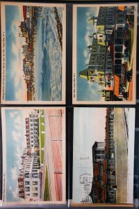US Old Time Picture Postcard Collection Lot of 180+ NJ NY PA