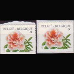 BELGIUM 1997 - Scott# 1677 Flowers Set of 2 NH