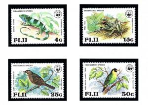 Fiji 397-400 MNH 1979 Endangered Species