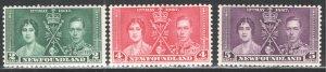 Newfoundland #230-2, Coronation, F/VF,  Unused  CV 7.00  ...   4350127