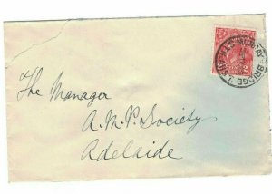 APH1455) Australia 1931 2d Red KGV Die I Small Cover
