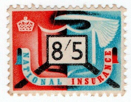 (I.B) Elizabeth II Revenue : National Insurance 8/5d