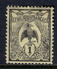 New Caledonia; 1905: Sc. # 88: */MH Single Stamp