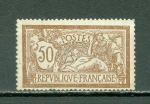 FRANCE 1900 LIBERTY & PEACE SCARCE #123...MNH...$400.00