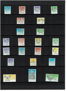 Ireland: 1990, Irish Heritage definitive set, in Presentation Folder, MNH