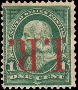 United States Scott R154a Unused hinged.